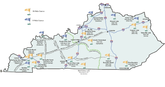 Kentucky State Parks Golf Trail By Brian Weis on kentucky forests map, tennessee virginia and north carolina map, kentucky trails map, ky state map, natural bridge state park map, kentucky marinas map, kentucky state rules, rolling fork kentucky river map, kentucky state map printable, maryland parks map, mammoth cave state park map, kentucky wildlife map, kentucky natural bridge state park, belmont state park map, kentucky state welcome, kentucky fishing map, kentucky state campgrounds map, mississippi parks map, kentucky national park map, lake barkley state resort park map,