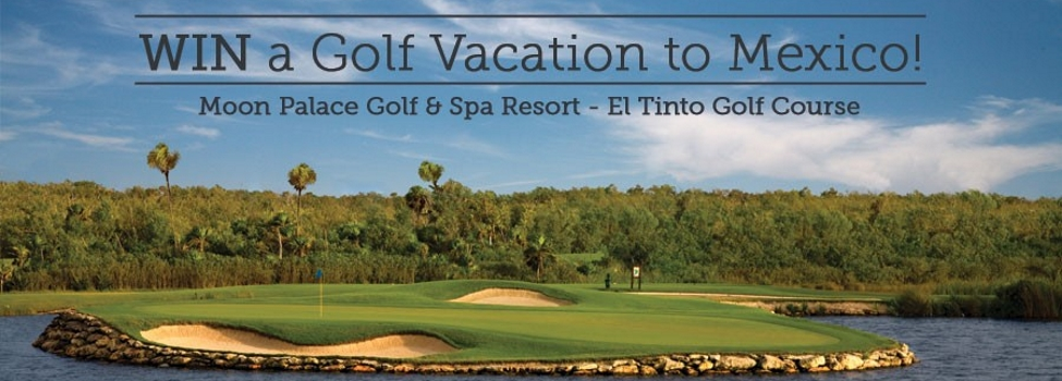 Win A Golf Vacation to Mexico